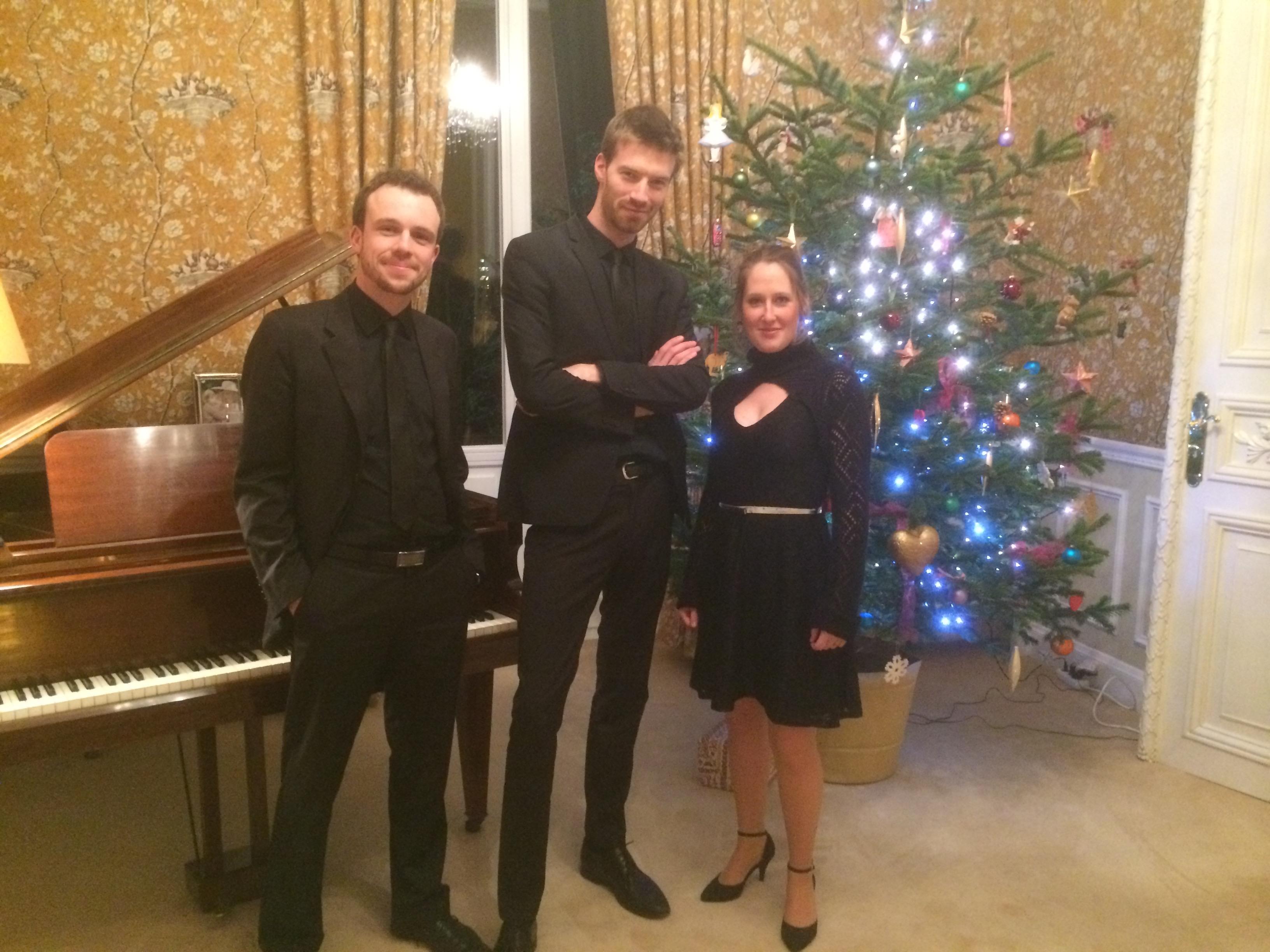 Concert de Noël à l'Ambassade d'Angleterre au Luxembourg